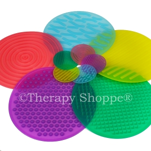 Tactile Gel Discs (OT Sensory Activities Set)
