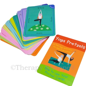 Yoga Pretzel Activity Cards