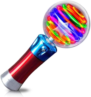 Light Up Crystal Ball Spinner