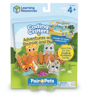 Super Sale Coding Critters Pouncer & Pearl Set