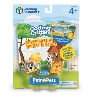 Super Sale Coding Critters Hunter & Scout Set