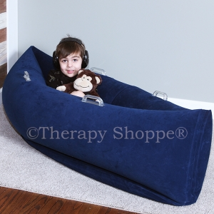 Blue Comfy Calming Sensory Canoe