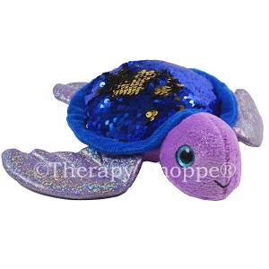 Shimmery Sequins Plush Turtle
