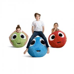 FuzzBudds Big Bouncy Cuddle Buddy Therapy Balls
