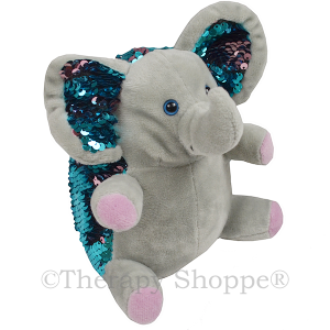 Ellie Elephant Weighted Sequin Pet