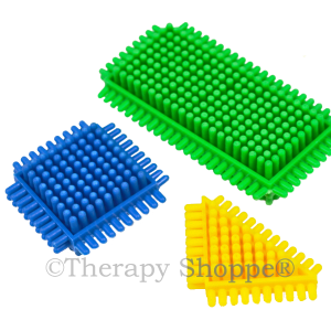 Tactile Bristle Fidgets™ 3-pack