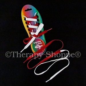 Bi-Color Teaching Shoelaces